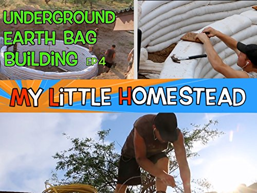 Underground Earth Bag Building - Completing the Underground Walls