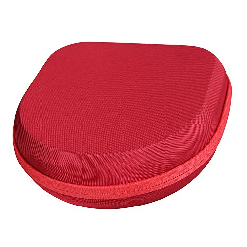Hermitshell Hard EVA Travel Red Case Fits Sony MDRXB950BT/B MDRXB950BT/L MDRXB950BT/R Extra Bass Bluetooth Headphones