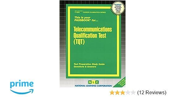 telecommunications qualification test tqt passbooks career rh amazon com Tqt Training Tqt Trucking