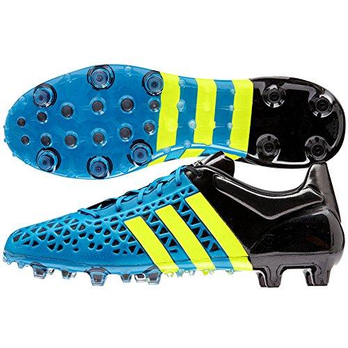 adidas Mens Ace 15.1 FG/AG Firm Ground/Artificial Grass Soccer Cleats 8 1/2 US, Solar ()