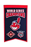 MLB Cleveland Indians WS Champions Banner, One Size