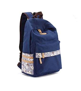 Amazon.com | Girls Ultralight Rucksack Book Bag High School ...