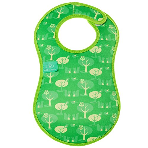 Bibetta Ultrabib Baby Bib (Green Owl) by BabyCenter (Image #5)