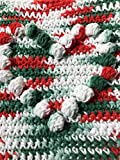 Handmade Heart Bobble Cotton Flannel