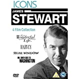 James Stewart - It's A Wonderful Life/Harvey/Rear Window/Mr. Smith Goes To Washington [Region 2 DVD]