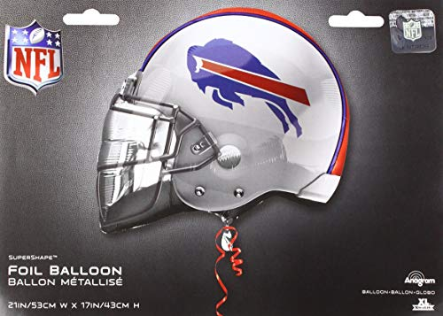 Anagram 26295 NFL Buffalo Bills Football Helmet Foil Balloon 21