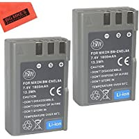 BM Premium 2 Pack of BM Premium EN-EL9, EN-EL9A Batteries for Nikon D5000, D3000, D60, D40x & D40 Digital SLR Camera