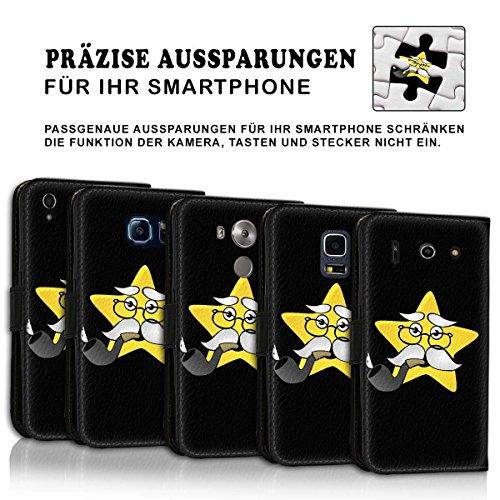 Wallet Book Style Flip Handy Tasche Case Schutz Hülle Schale Motiv Etui für Apple iPhone 4 / 4S - Design Flip MV109