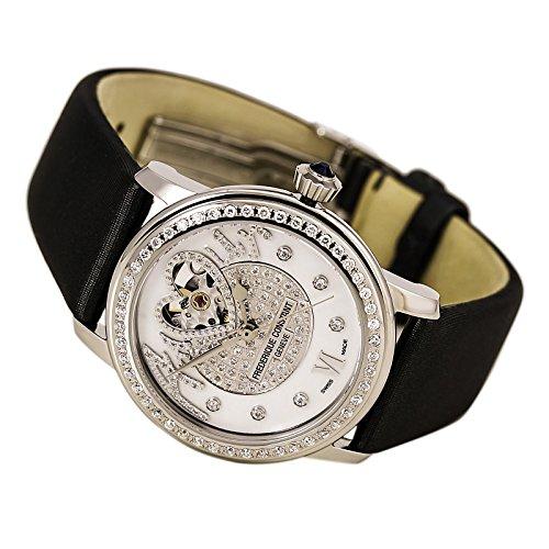 Frederique Constant Women's FC-310SQPV2PD6 LadiesAutomt Grey Satin Watch