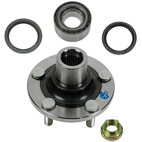 Wheel Bearing, Seal & Hub Front Driver or Passenger Side Kit 4 Piece for Subaru ()