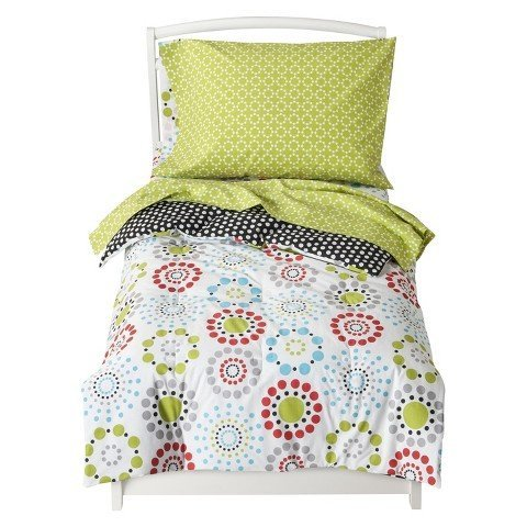 Sumersault Colorburst Toddler Bedding Set - Bed Accessories - Toddler Bedding - Bedroom Collection - This is everyday style that makes sense for your life and your home.