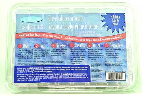 Life of The Party, Clear Glycerin Soap Base, 2 lb, 52001