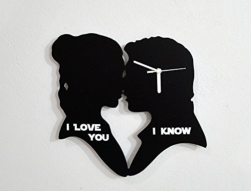 I love you, I Know - Silhouette Wall Clock