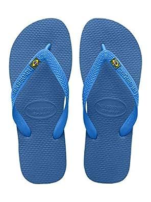 havaianas Mens Top Sandal, Marine Blue, 39/40 BR/8 M US