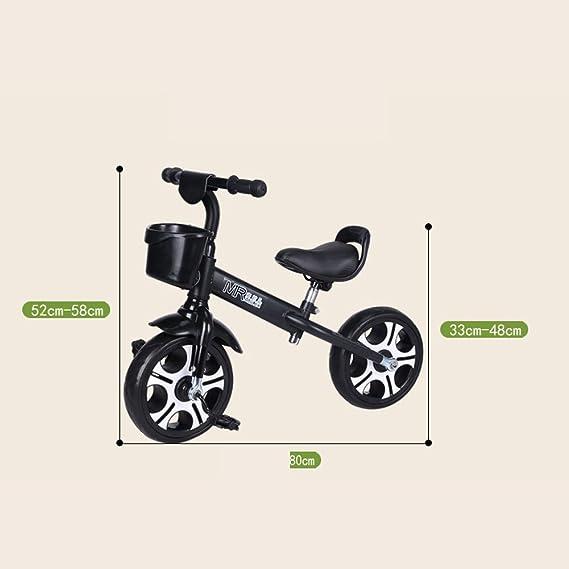 Bicicletas para niños Guo Shop- Triciclo Infantil Bicicleta para bebés Bicicleta Multifuncional 3-6 años Carro de bebé Drift Coche de Juguete Equilibrio del ...