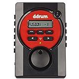 DDrum DD BETA 5-Piece Drum Set, Black/Red