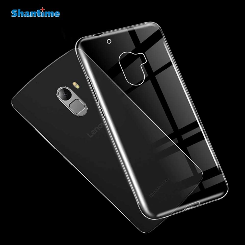 Lenovo Vibe K4 Note Case, Scratch Resistant Soft TPU Back Cover Shockproof Silicone Gel Rubber Bumper Anti-Fingerprints Full-Body Protective Case Cover for Lenovo A7010 (Transparent)