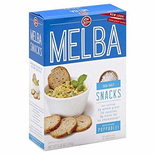 Snack Toast - Old London Melba Snacks, Sea Salt 5.25 ounce (1 Count)
