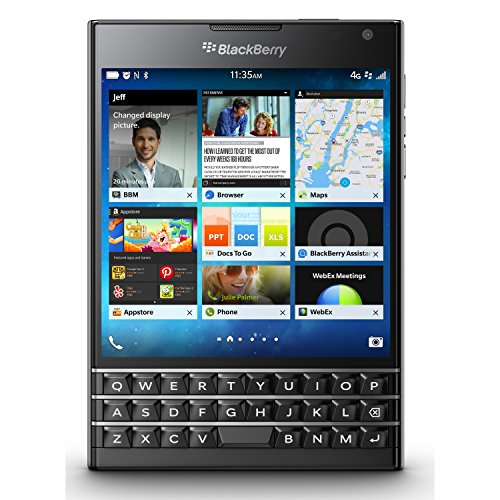 (BlackBerry Passport 32GB Factory Unlocked (SQW100-1) GSM 4G LTE Smartphone -)