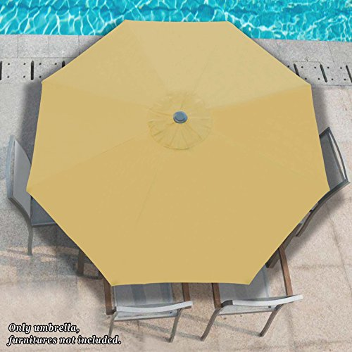 Strong Camel Patio Umbrella 10 With Tilt And Crank 8 Ribs