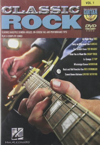 Classic Rock - Guitar Play-Along DVD Vol. 1 by Doug Boduch