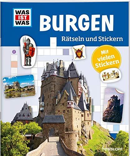 Rätseln Und Stickern  Burgen  WAS IST WAS Rätselhefte