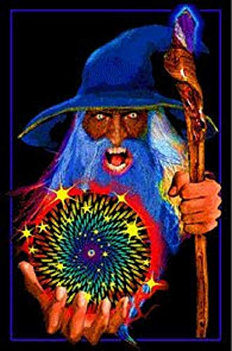 Mystic Wizard Blacklight 23