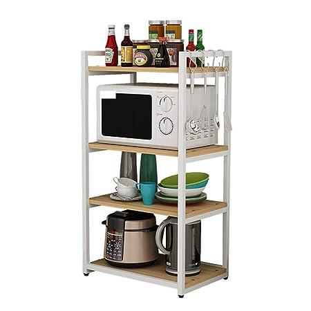 Soporte para microondas estantería de cocina Estantería de 4 ...