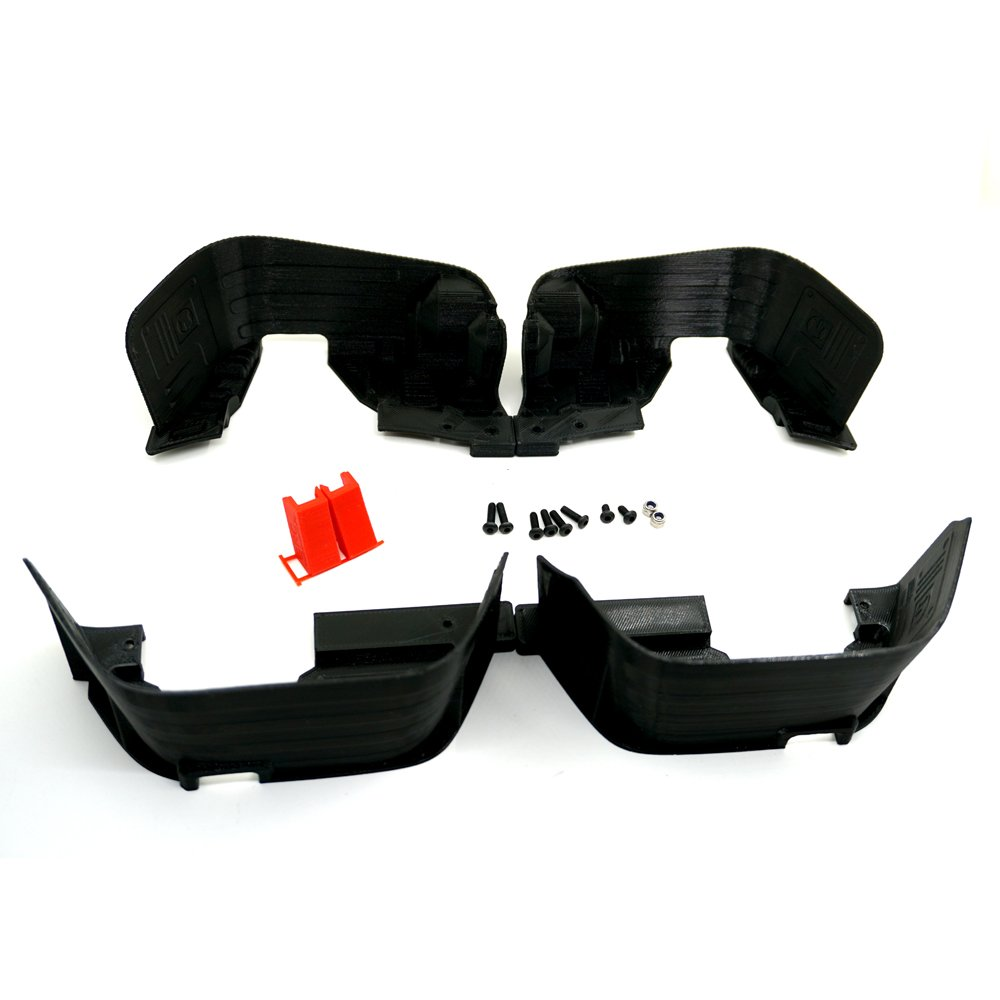 Front   Rear Inner Fender Wells   Mudguard for 1 10 RC Axial SCX10 AX90027 28 35