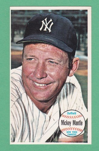 (Mickey Mantle 1964 Topps Giant Baseball Cards 3 1/8