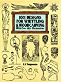 One Thousand One Designs for Whittling and Woodcarving, Elmer J. Tangerman, 0486283623