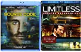 Limitless (Unrated) & Source Code [Blu-ray] 2 Pack Sci-Fi Mystery Action Movie Set