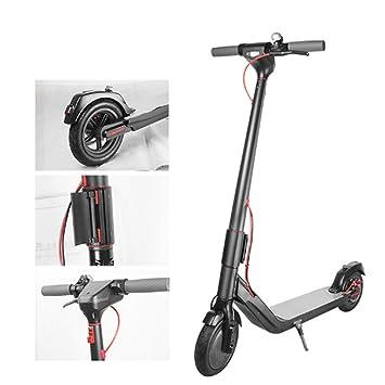ZTXY Scooter eléctrico para Adultos 8.5 Pulgadas Aleación de ...
