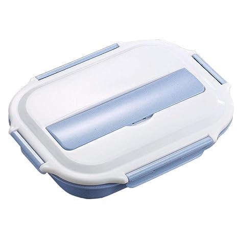 Beatie bento lunch box 4 compartiments hermétiques isotherme , inox  intérieure isotherme Boîtes-repas japonais 0319d0f07671