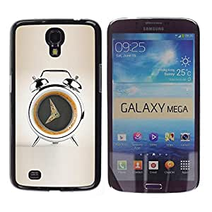 Be Good Phone Accessory // Dura Cáscara cubierta Protectora Caso Carcasa Funda de Protección para Samsung Galaxy Mega 6.3 I9200 SGH-i527 // Coffee Alarm Funny
