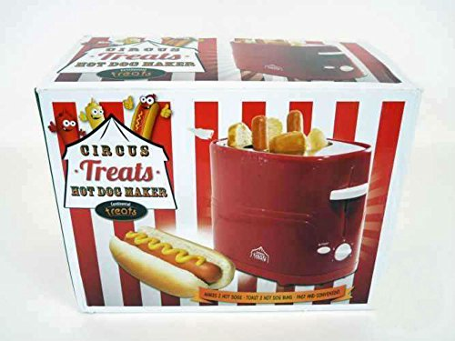 circus treats hot dog maker by continental treats retro appliances. Black Bedroom Furniture Sets. Home Design Ideas