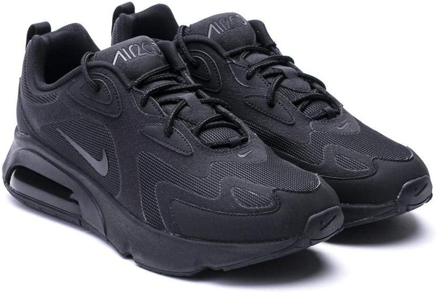 Nike Air Max 200 Men's Shoe, Scarpe da Corsa Uomo, Black