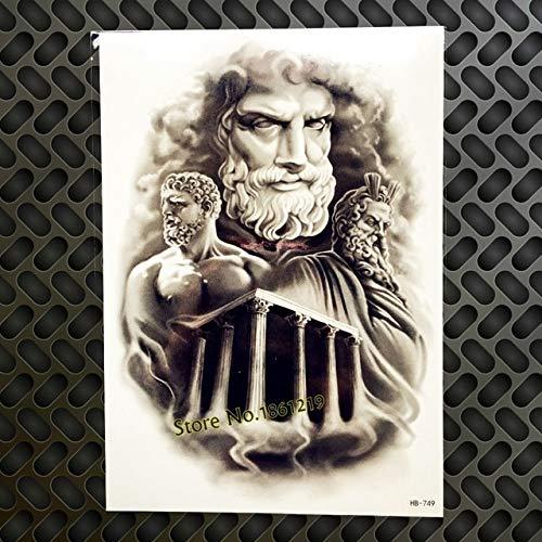HXMAN 3 Unids Fresco Según La Mitología Griega Power Man Dios ...