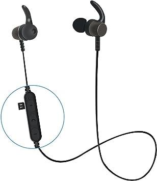 Auriculares Bluetooth para Deporte, Magnéticos Cascos inálambrico ...