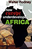 How Europe Underdeveloped Africa, Walter Rodney, 1574780484