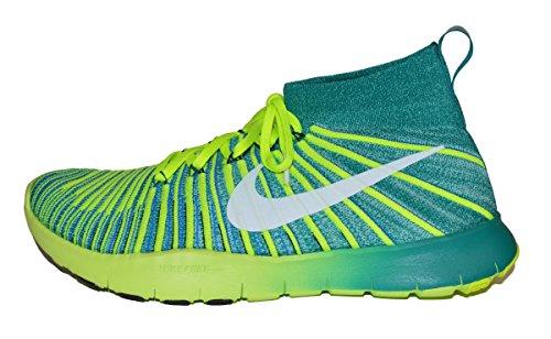 Nike Mens Free Train Force Flyknit Hardlopen / Training Schoenen Rio Teal