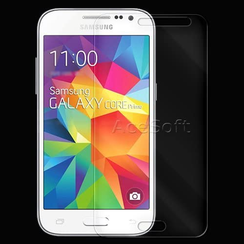 Full Coverage Transparent Protective Premium Tempered Glass Film Screen Protector for Net10 Samsung Galaxy Core Prime 4G LTE Cellphone USA 9H