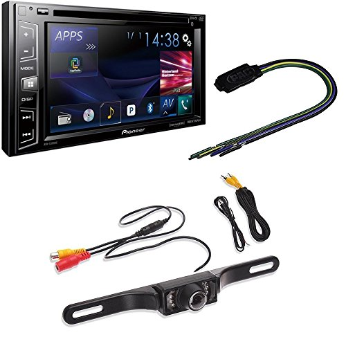 Pioneer In-Dash 2-DIN 6.2-Inch Touchscreen Multimedia DVD Receiver, Built-in Bluetooth, Sirius XM Ready W/ Video Lockout Bypass Trigger Module (Go Audio Distribution Modules)