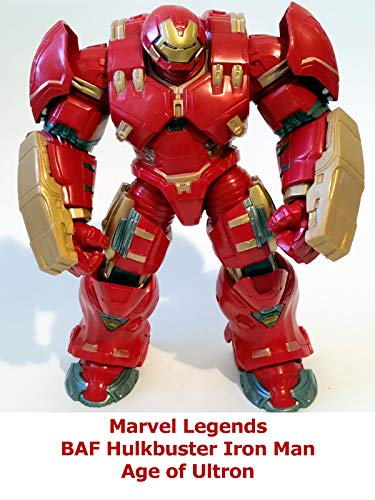 Clip: Marvel Legends BAF Hulkbuster Iron Man Age of Ultron -