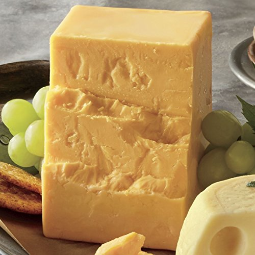 2-lbs. Sharp Cheddar Cheese from Wisconsin (Aged Sharp Cheddar)