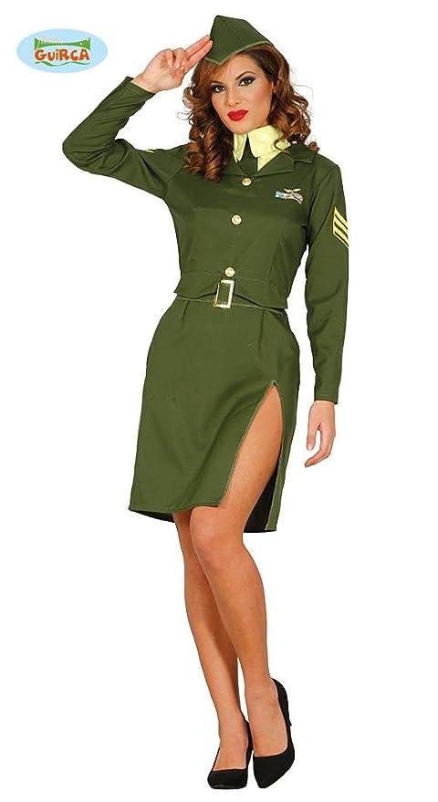 58fea6af2eba Costume donna soldato militare sexy taglia M: Amazon.it: Giochi e ...