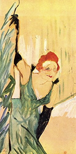 Henri Toulouse Lautrec - Green Woman - Extra Large - Matte - Unframed Vintage Wall Art Poster Picture Giclee Artwork Modern Contemporary & Fine Art Print ()