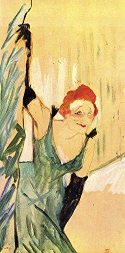 Henri Toulouse Lautrec - Green Woman - Large - Matte - Unframed Vintage Wall Art Poster Picture Giclee Artwork Modern Contemporary & Fine Art Print ()