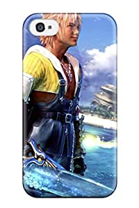 6895561K33826451 Awesome Design Final Fantasy X Video Game Hard Case Cover For Iphone 4/4s