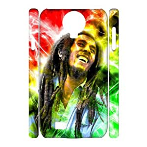 YYCASE Cell phone case Bob Marley Hard 3D Case For Samsung Galaxy S4 i9500